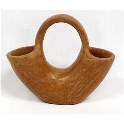 Vintage Native American Pottery Wedding Vase