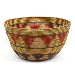 Vintage Ethnic 3-Toned Basket