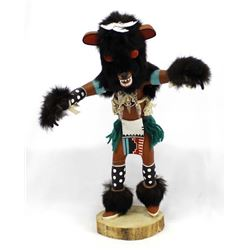 Navajo Black Bear Kachina by Dina John