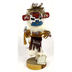 Navajo Snow Kachina by Kimberly Yazzie