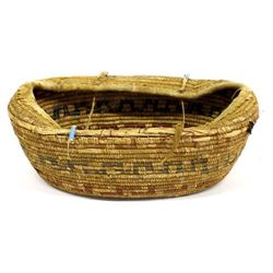Northwest Coast Baby Cradle Basket