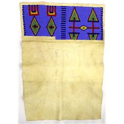 Plains Indian Beaded Leather Dance Apron
