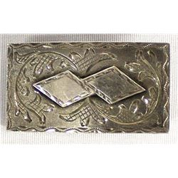 Mexican Sterling Silver Belt Buckle