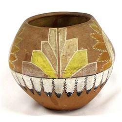 Historic Native American Jemez Pottery Bowl