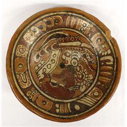 Pre Columbian Pottery Pedestal Bowl