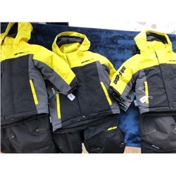 3 Skidoo kids' snow jackets and pant sets, size, 5, 4 and 2