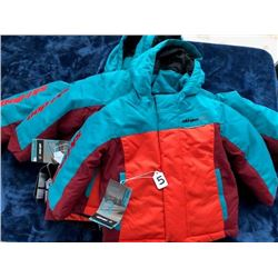 3- Skidoo kids' winter coats, sizes 3, 5&6