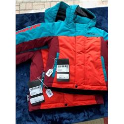 2 Skidoo kids' winter coats, sizes 6&4