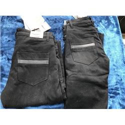 2 pairs Triumph ladies' skinny jeans with removeable armour, size 24