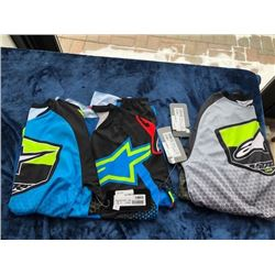 3 jerseys, size M