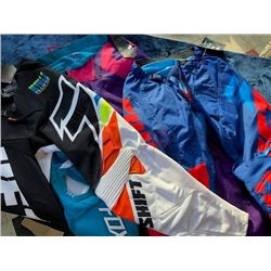 3 pairs racing pants, size 30, 36 & 28