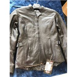 Joe Rocket Glorious and Free 2 black leather jacket, size M