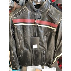 Triumph Ladies Raven leather jacket, size M