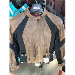 Joe Rocket Riviera brown leather jacket, XS