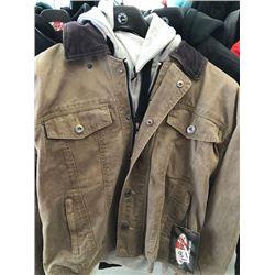 Joe Rocket Steel City jacket, brown, L