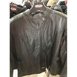 Joe Rocket black leather jacket, L