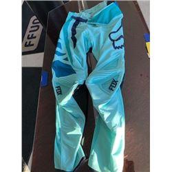 Fox racing pants, size 8