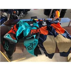 Two Racing Pants: One FOX and One THOR Racing Pant Size 30