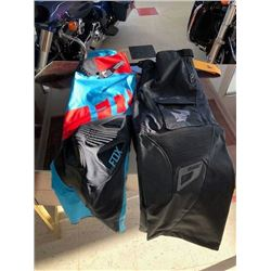 Two Racing Pants: One FOX and One THOR Racing Pant Size 38