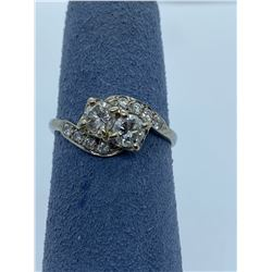 14K LADIES RING WITH DIAMONDS RV $2,450.00