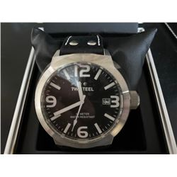 TW STEEL MENS OVER SIZED DRESS WATCH