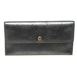 Louis Vuitton Charcoal Monogram Mat Leather International Wallet