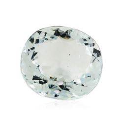 6.36 ct.Natural Cushion Cut Aquamarine