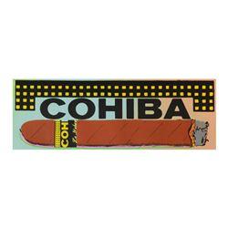 Cohiba Cigar by Steve Kaufman (1960-2010)