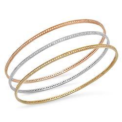 14k Gold 2.81CTW Diamond Bracelet, (SI1 /G-H)