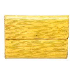 Louis Vuitton Yellow Epi Leather Compact Porte Tresor International Wallet