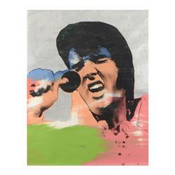 Elvis Vegas by Steve Kaufman (1960-2010)
