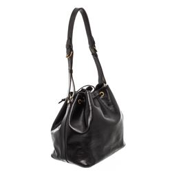 Louis Vuitton Black Epi Leather Noe PM Drawstring Shoulder Bag