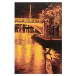 Twilight On The Seine I by Behrens (1933-2014)