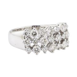 1.32 ctw Diamond Ring - 18KT White Gold