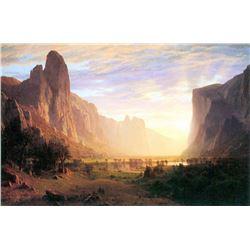 Yosemite Valley 3 by Albert Bierstadt