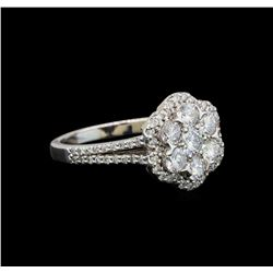 14KT White Gold 1.27 ctw Diamond Ring