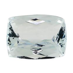 4.25 ct.Natural Rectangle Cushion Cut Aquamarine