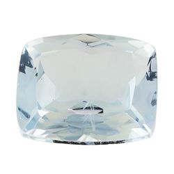 1.76 ct.Natural Rectangle Cushion Cut Aquamarine