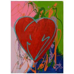 Heart by Steve Kaufman (1960-2010)