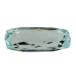 6.09 ct.Natural Cushion Cut Aquamarine