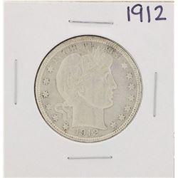 1912 Barber Half Dollar Coin