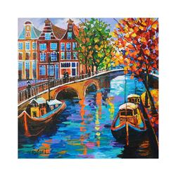 Canal Crossing by Rafael Original