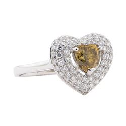 1.55 ctw Diamond Ring - Platinum