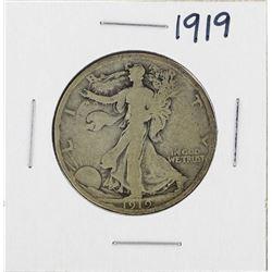 1919 Walking Liberty Half Dollar Silver Coin