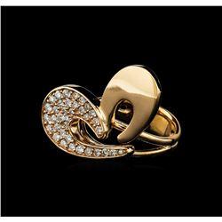 0.61 ctw Diamond Ring - 14KT Rose Gold