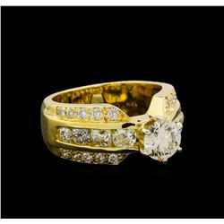 2.38 ctw Diamond Ring - 18KT Yellow Gold