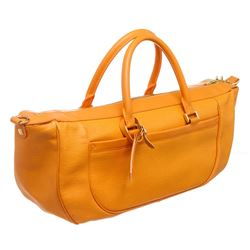 Louis Vuitton Orange Epi Leather Dhanura MM Shoulder Bag