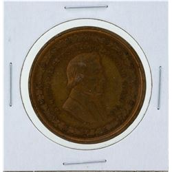 Circa 1880 Franklin Pierce George H Lovett Medal Red Brown