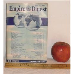 Empire Digest Antique 1946 magazine