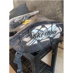 Ski-Doo mitts and storage Bag